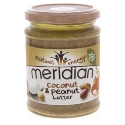 unt de arahide cu cocos meridian