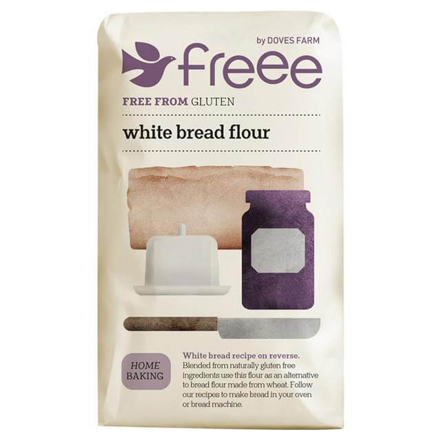 faina fara gluten pentru paine alba doves farm