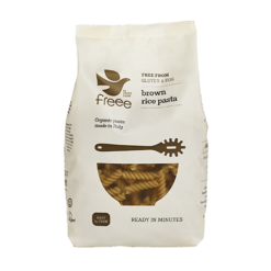 fussili din orez brun fara gluten