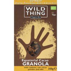 granola - musli cu cacao si cashew