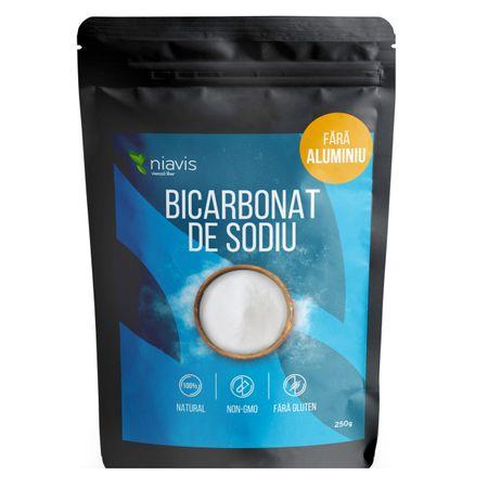 bicarbonat de sodiu fara aluminiu, fara gluten si alergeni