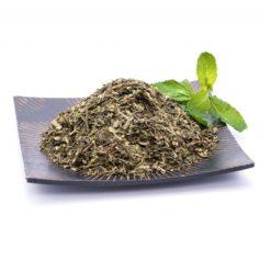 ceai verde Sencha cu menta