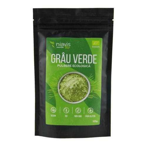 iarba de grau verde pulbere bio