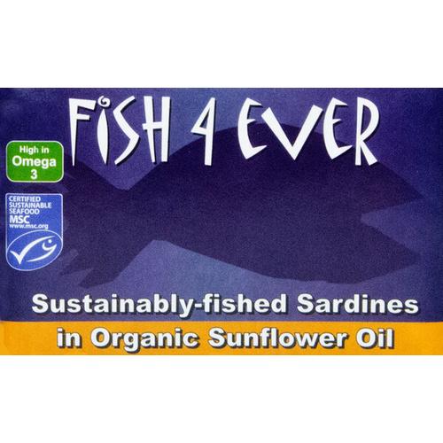 sardine in ulei de floarea-soarelui bio, sardine brisling