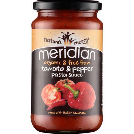 sos pentru paste fara gluten cu rosii si ardei gras meridian foods