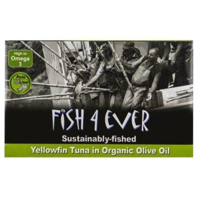 ton yellowfin in ulei de masline organic fish4ever