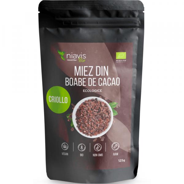 miez boabe de cacao criollo