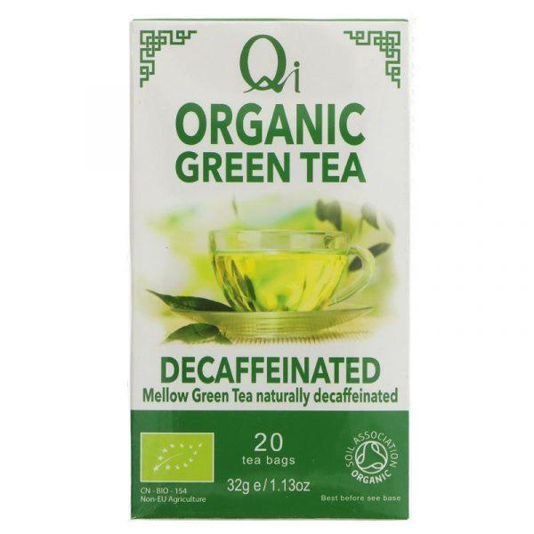 ceai verde fara cofeina organic