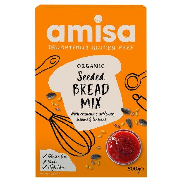 faina fara gluten cu seminte bio pentru paine