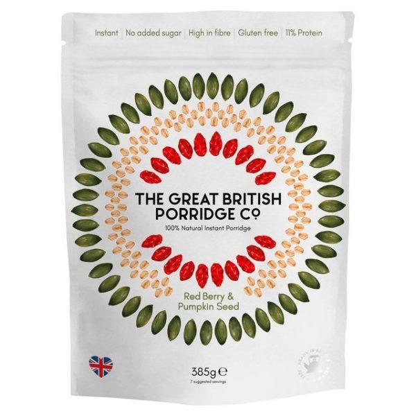 porridge fructe si seminte de dovleac fara zahar fara gluten