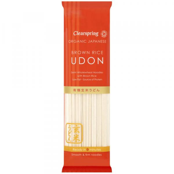 udon noodles grau si orez brun bio