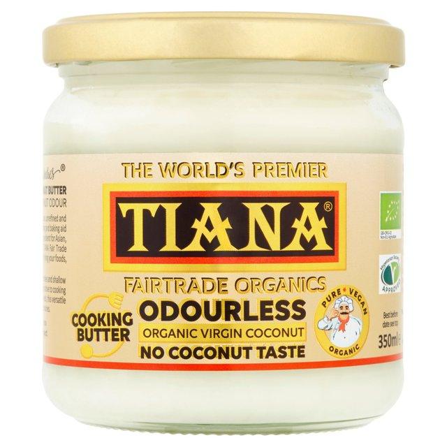 unt de cocos pur 100% organic fara gluten tiana