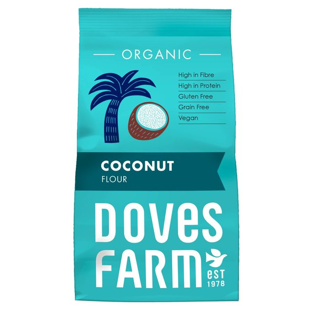 faina de cocos fara gluten doves farm