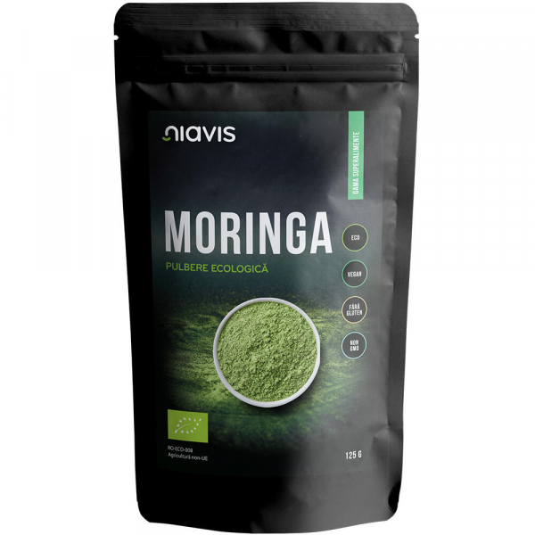 pulbere din frunze do moringa bio