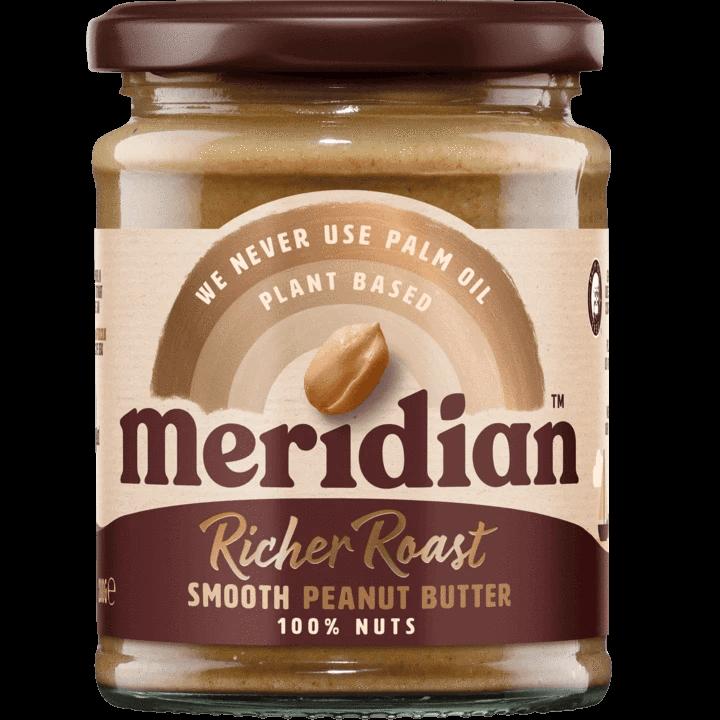 unt de arahide meridian richer roast