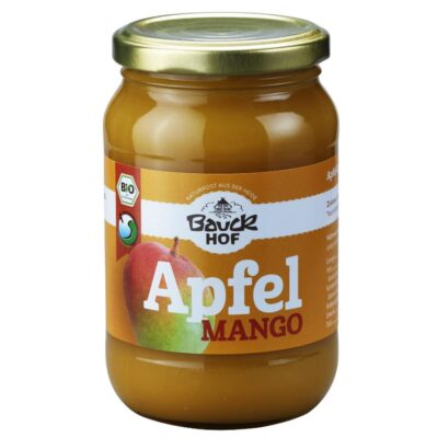 puree de mango si mere bio