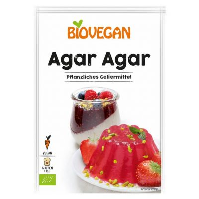 gelatina vegetala agar biovegan